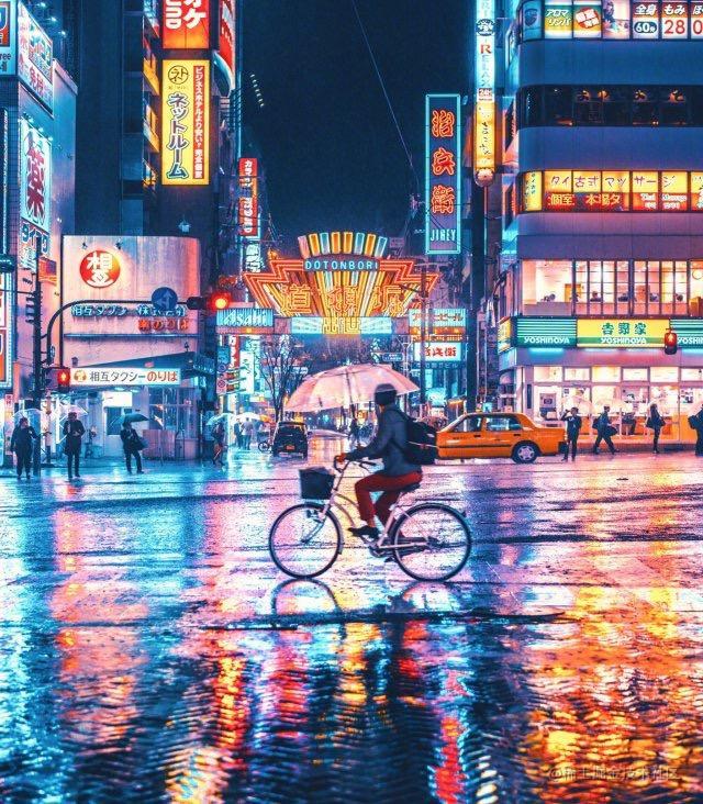 台风过后的城市