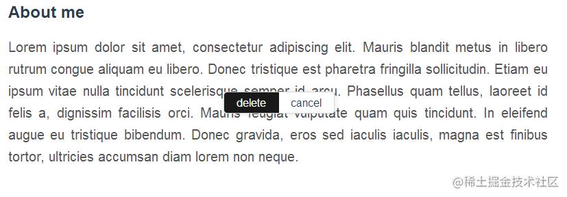 List-item组件