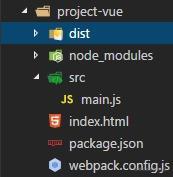 项目目录结构