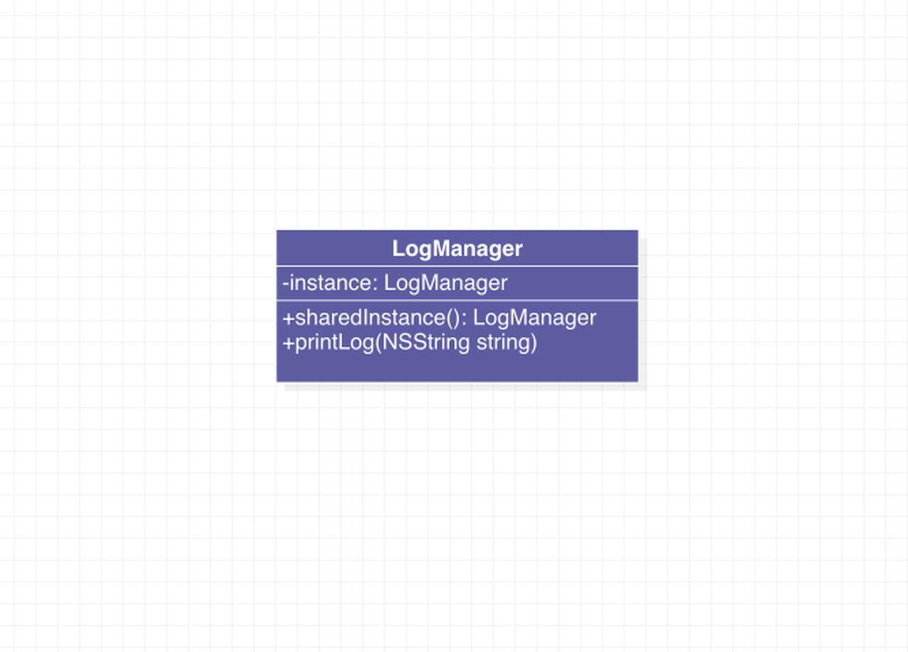 单例模式代码示例类图
