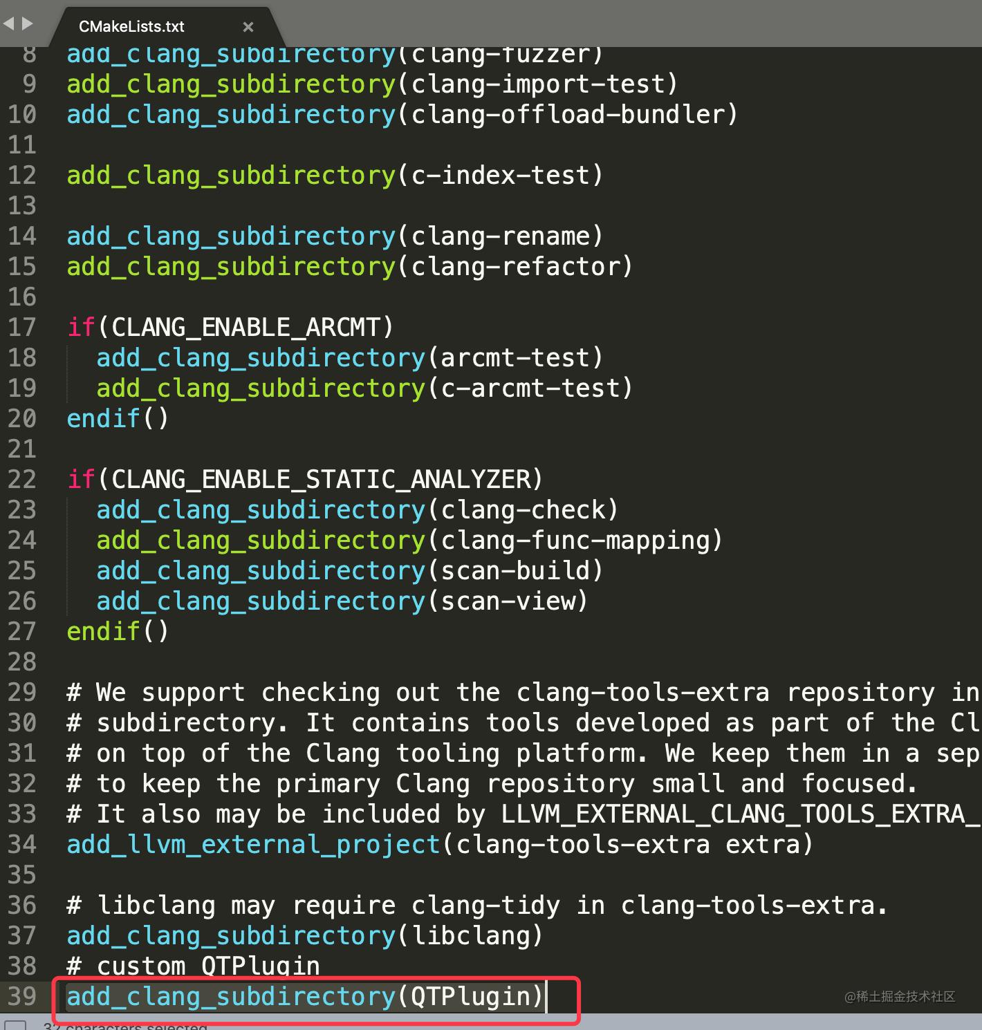 create clang plugin