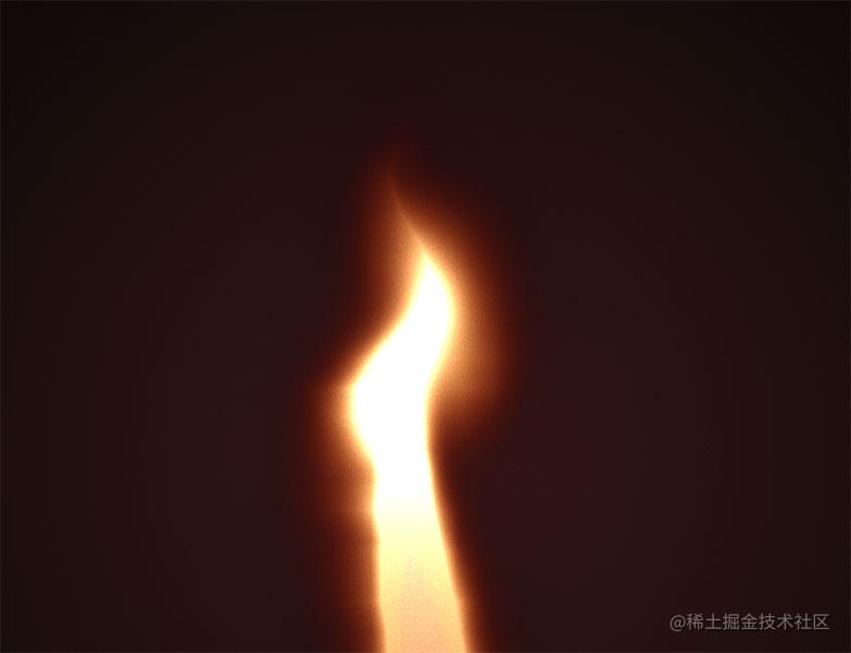 Flame-in-the-wind
