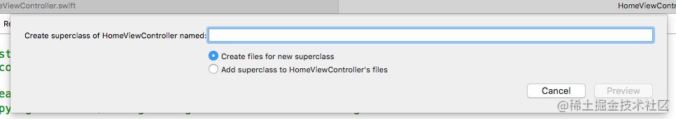 Create Superclass