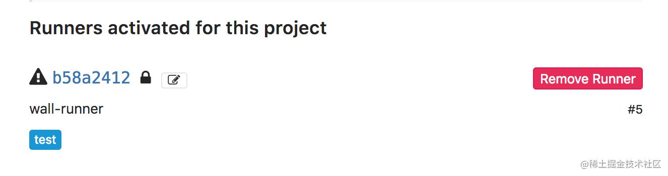 GitLab-Runner创建成功