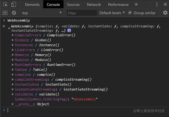 window.WebAssembly