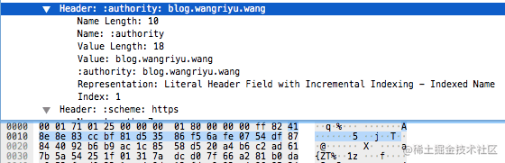 Literal Header Field with Incremental Indexing - Indexed Name